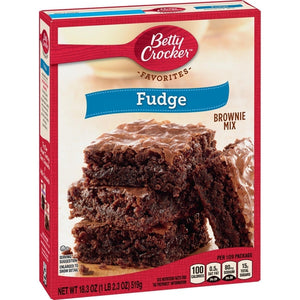 Betty Crocker Fudge Brownie Mix 519g - Candy Mail UK