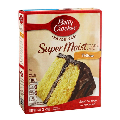 Load image into Gallery viewer, Betty Crocker Yellow Cake Mix 432g - Candy Mail UK