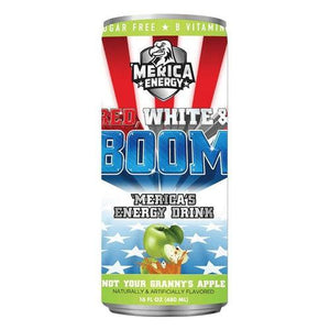 Load image into Gallery viewer, Boom 'Merica Apple Energy Drink 480ml - Candy Mail UK