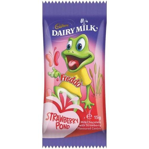 Load image into Gallery viewer, Cadbury's Dairy Milk Strawberry Freddo 15g - Candy Mail UK
