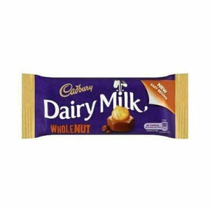 Cadbury's Dairy Milk Wholenut (Ireland) 55g - Candy Mail UK