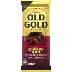 Load image into Gallery viewer, Cadbury's Old Gold Cherry Ripe 180g - Candy Mail UK
