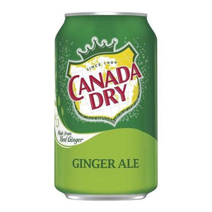 Canada Dry Ginger Ale 330ml - Candy Mail UK