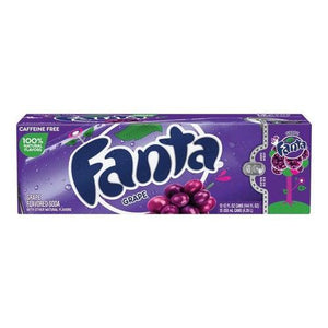 Load image into Gallery viewer, Case of Fanta Grape Soda 12x355ml - Candy Mail UK