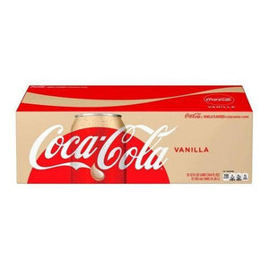 Case of Vanilla Coke 12x355ml - Candy Mail UK