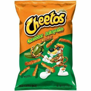 Cheetos Crunchy Jalapeno American Import XXL Bag 226g - Candy Mail UK