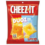 Cheez It Duoz Cheddar Jack and Baby Swiss 121g - Candy Mail UK