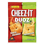 Cheez It Duoz Sharp Cheddar and Parmesan 121g - Candy Mail UK