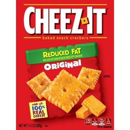 Cheez It Original Reduced Fat 170g - Candy Mail UK