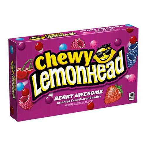 Chewy Lemonhead Berry Box 142g - Candy Mail UK