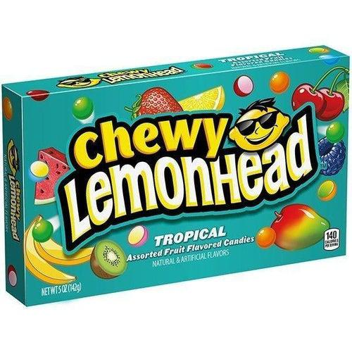 Chewy Lemonhead Tropical Box 23g - Candy Mail UK