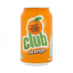 Club Orange Soda 330ml (Ireland) - Candy Mail UK