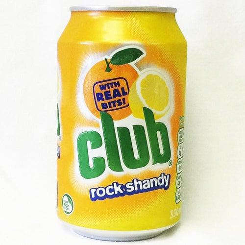 Club Rock Shandy Soda 330ml (Ireland) - Candy Mail UK