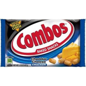 Combos Cheddar Cheese 51g - Candy Mail UK