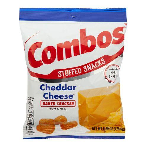 Combos Cheddar Crackers 178.6g - Candy Mail UK
