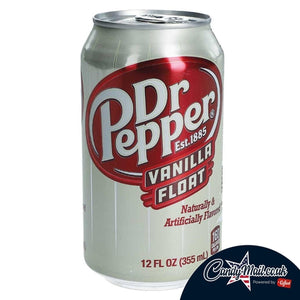 Dr Pepper Vanilla Float 355ml - Candy Mail UK