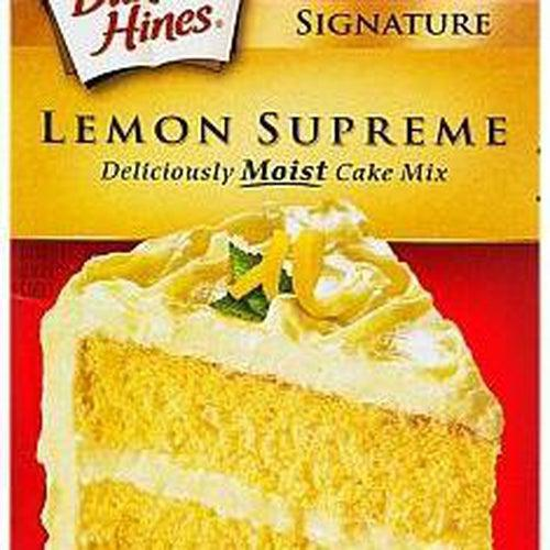 Load image into Gallery viewer, Duncan Hines Lemon Supreme Cake Mix 432g - Candy Mail UK