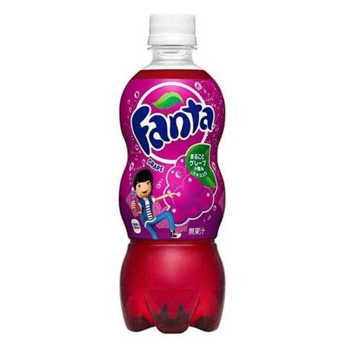 Load image into Gallery viewer, Fanta Grape Bottle Japan 500ml - Candy Mail UK
