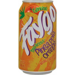 Faygo Pineapple Orange 355ml - Candy Mail UK