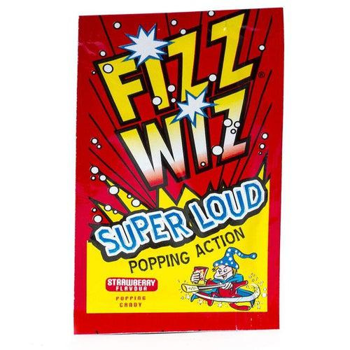 Load image into Gallery viewer, Fizz Wizz Strawberry Popping Candy 4.9g - Candy Mail UK