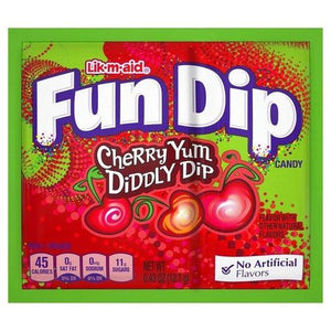 Load image into Gallery viewer, FunDip Cherry Yum 15g - Candy Mail UK