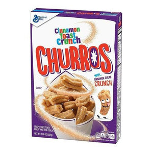 Gen Mills Cinnamon Crunch Churros Cereal 337g - Candy Mail UK