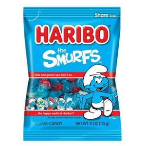 Haribo Smurfs Bag 142g - Candy Mail UK