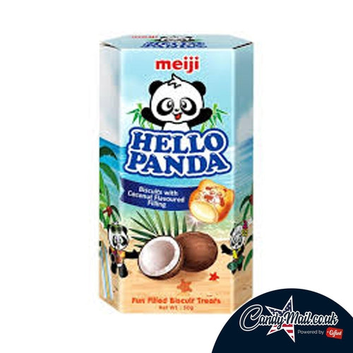 Hello Panda Coconut 50g - Candy Mail UK