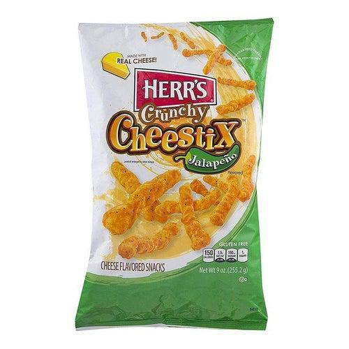Herr's Jalapeno Crunchy Cheese Stix 255.2g - Candy Mail UK