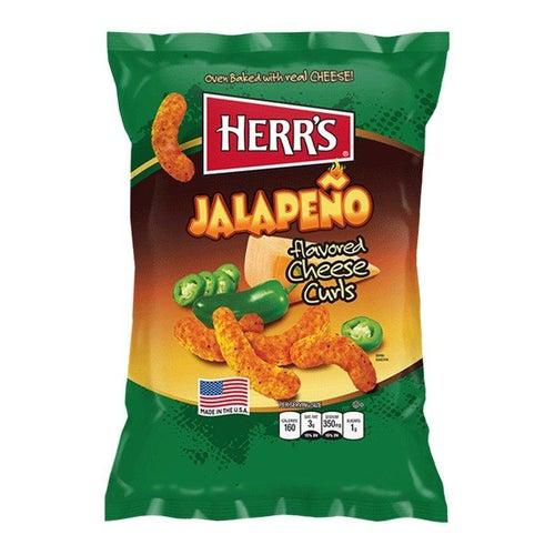 Herr's Jalapeno Poppers Cheese Curls 85g - Candy Mail UK