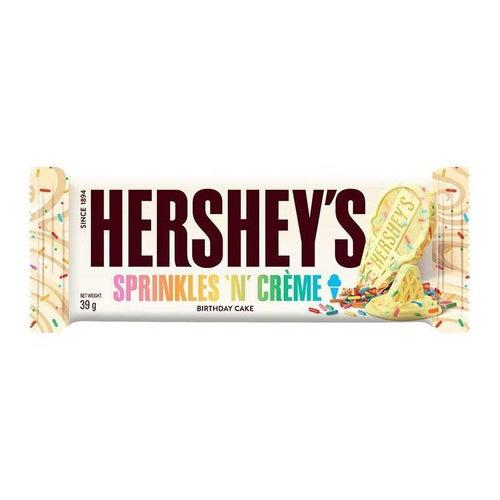 Hershey's Sprinkes 'n Creme Birthday Cake Bar 39g - Candy Mail UK