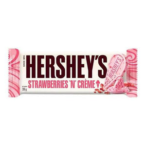 Load image into Gallery viewer, Hershey's Strawberry 'n Creme Bar 39g - Candy Mail UK