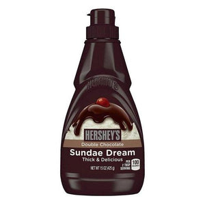 Hershey's Sundae Dream Double Chocolate Syrup 425g - Candy Mail UK