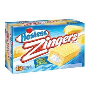 Load image into Gallery viewer, Hostess Vanilla Zingers 380g - Candy Mail UK