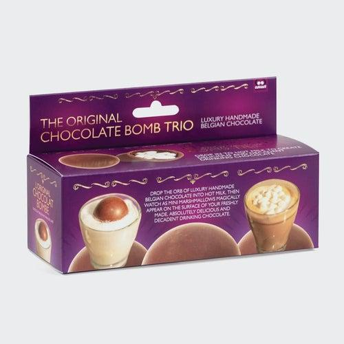 Hot Chocolate Bomb Trio - Candy Mail UK