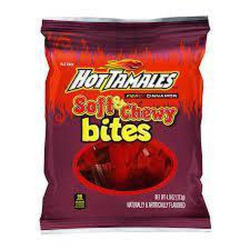 Hot Tamales Soft and Chewy Bites 113g - Candy Mail UK