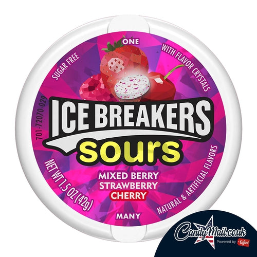 Ice Breaker Mixed Berry Sours 42g - Candy Mail UK
