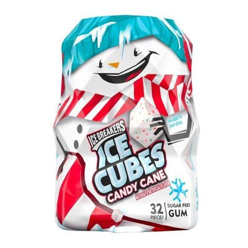 Ice Breakers Candy Cane Gum Snowman 74g - Candy Mail UK
