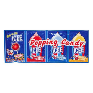 Icee Popping Candy and Lolliop 28g - Candy Mail UK