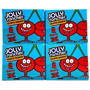 Load image into Gallery viewer, Jolly Rancher Gelatin Cherry 85g - Candy Mail UK