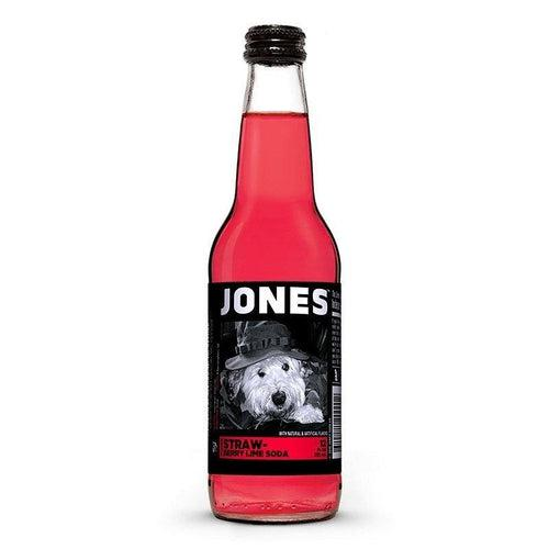 Load image into Gallery viewer, Jones Soda Strawberry Lime 355ml - Candy Mail UK