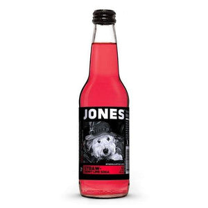 Jones Soda Strawberry Lime 355ml - Candy Mail UK