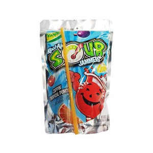 Kool Aid Sour Jammers Zappin Tropical Punch 177ml - Candy Mail UK