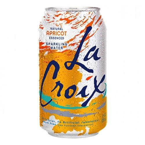 La Croix Apricot Sparkling Water 355ml - Candy Mail UK