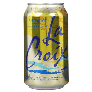 La Croix Lemon Sparkling Water 355ml - Candy Mail UK