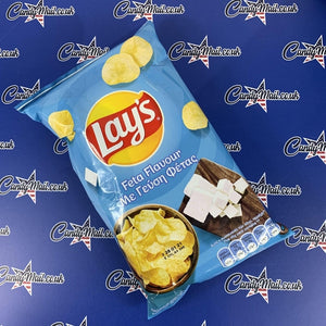 Lays Feta Crisps (Greece) 45g - Candy Mail UK