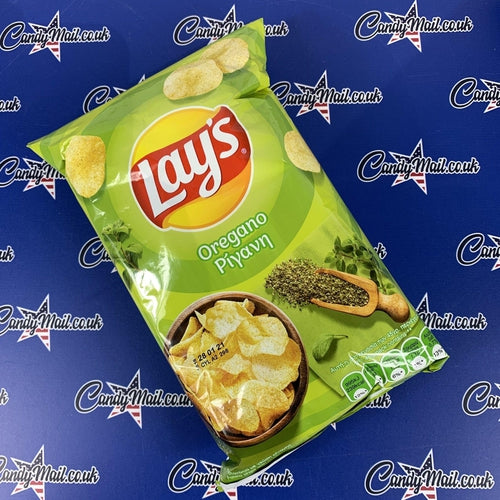 Load image into Gallery viewer, Lays Oregano Crisps (Greece) 45g - Candy Mail UK