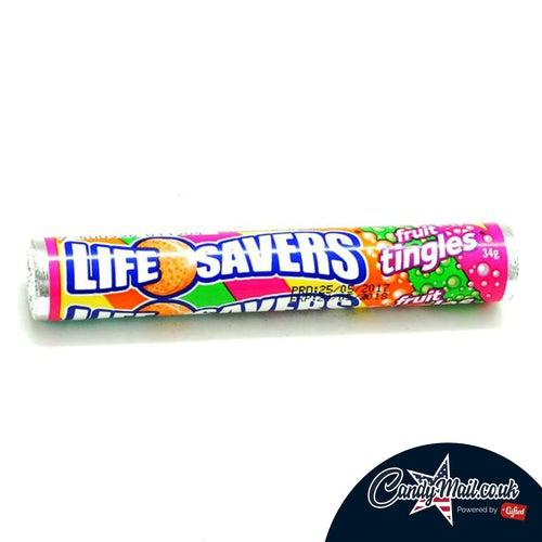 Lifesavers Fruit Tingles Australian 34g BB 10/08/20 - Candy Mail UK