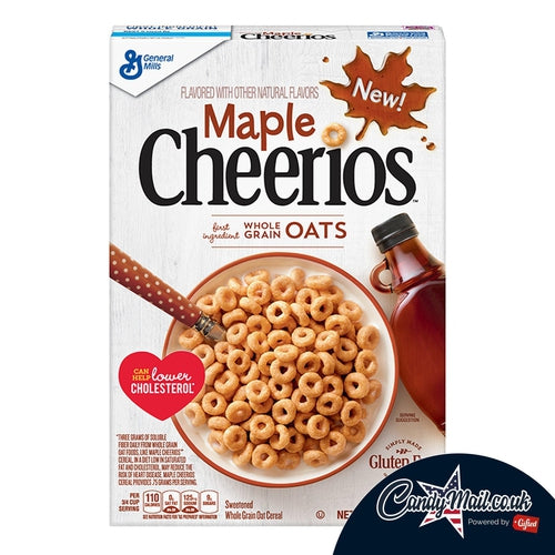 Maple Cheerio Cereal 306g - Candy Mail UK