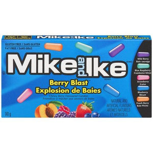 Mike and Ike Berry Blast 141g - Candy Mail UK